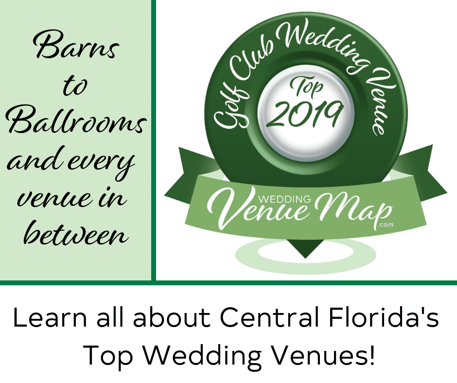 2019 Top Golf/Country Club Wedding Venues in Central Florida