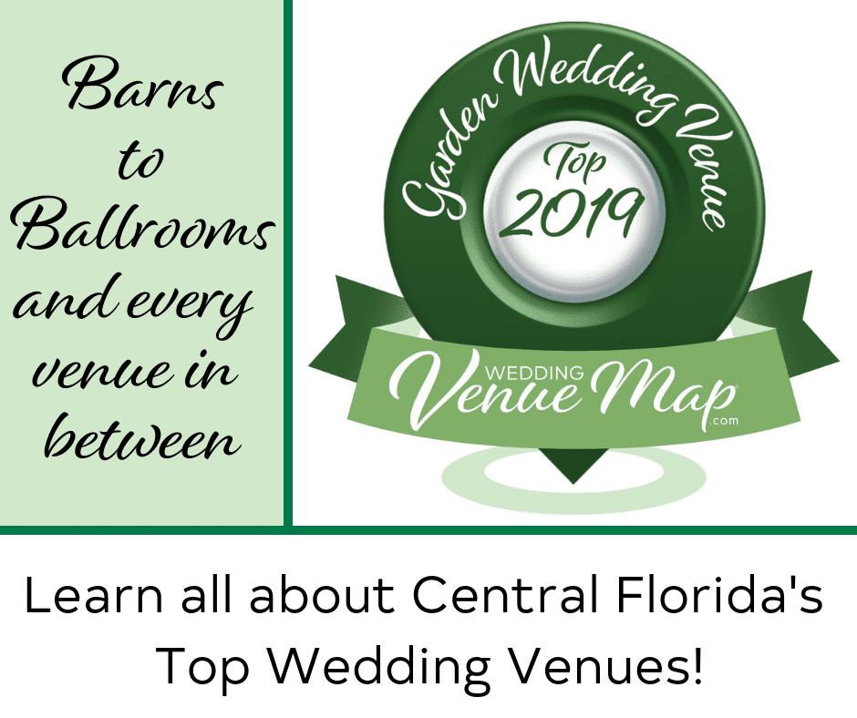 2019 Top Garden Wedding Venues in Central Florida