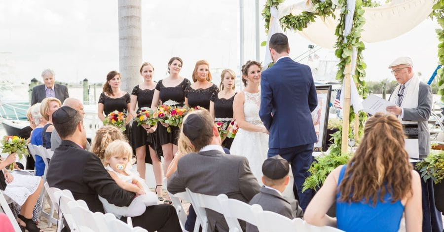 Rabbi Olshansky - Rabbi officiating wedding