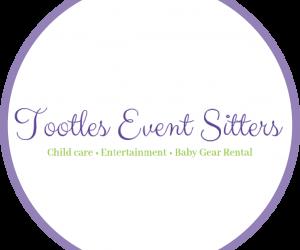 Tootles wedding babysitters logo