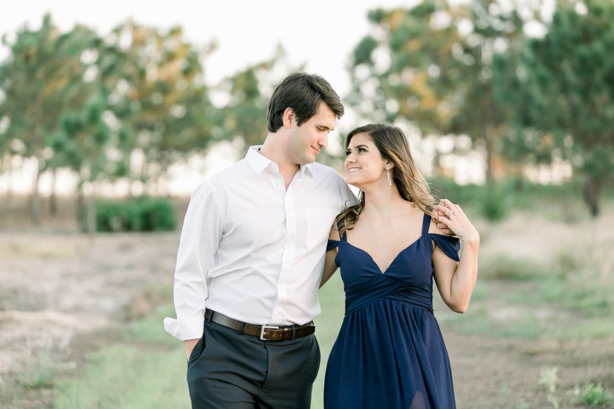 Bumby Photography - engagement photo shoot in nature