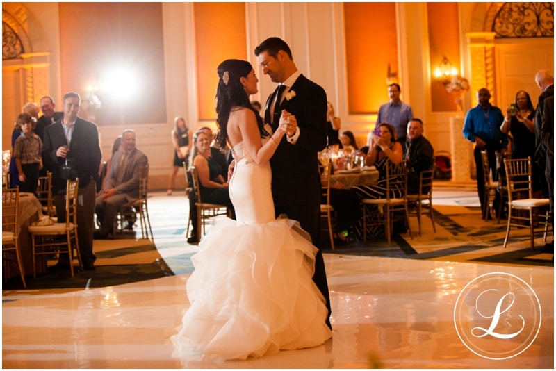 White Rose Entertainment - bride and groom share first dance