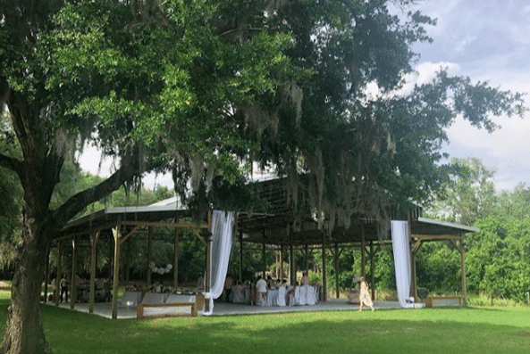 The-Farmhouse-on-44-Outdoor pavilion during reception