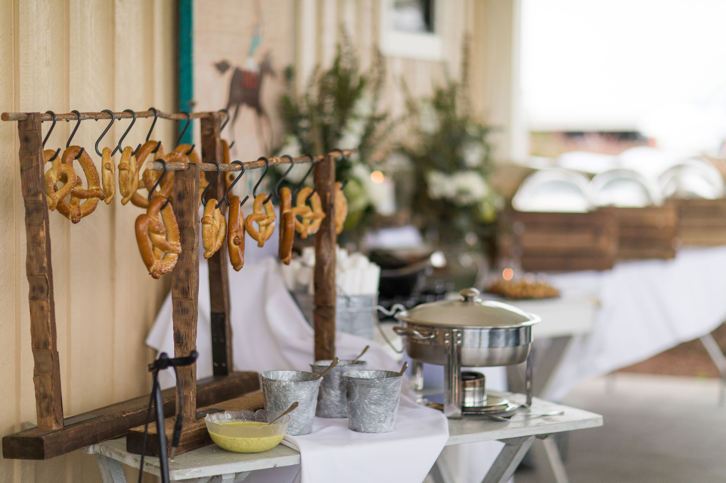 The Villages Polo Club - Pretzel bar at reception
