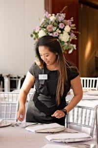 Kim Tran of Pearl White Events