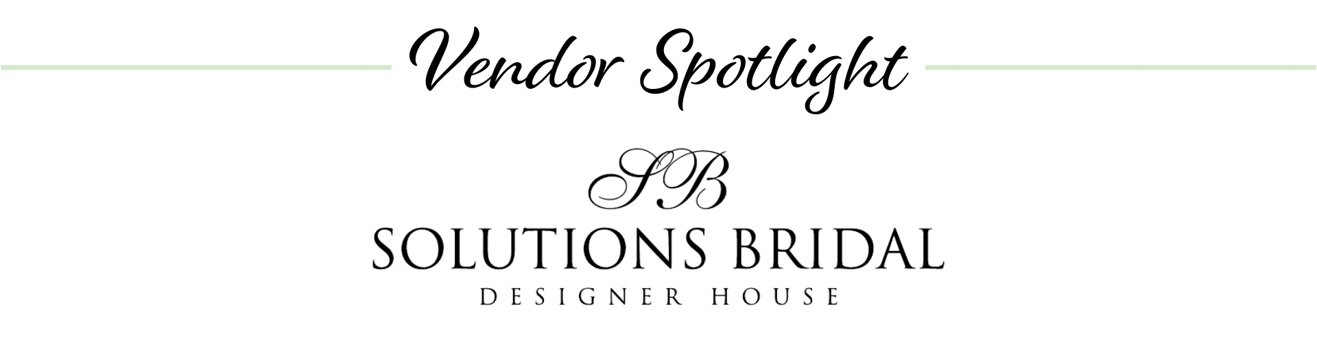Solutions Bridal logo