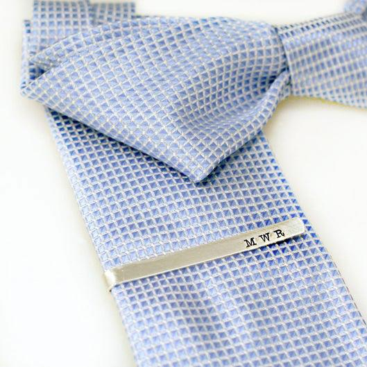 groomsmen gift idea - customized tie bar