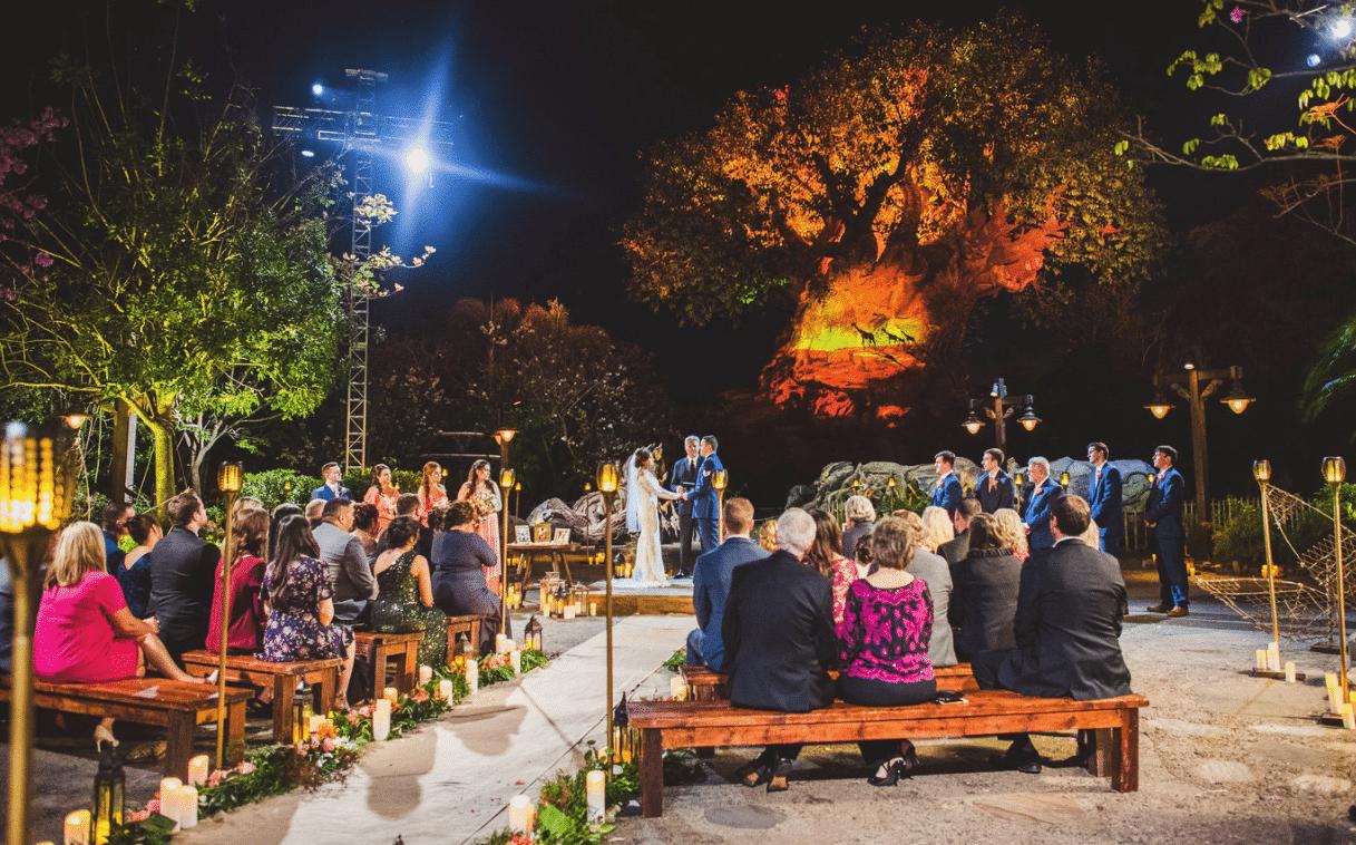 A Beautiful Ceremony - wedding ceremony at Disney's Animal Kingdom