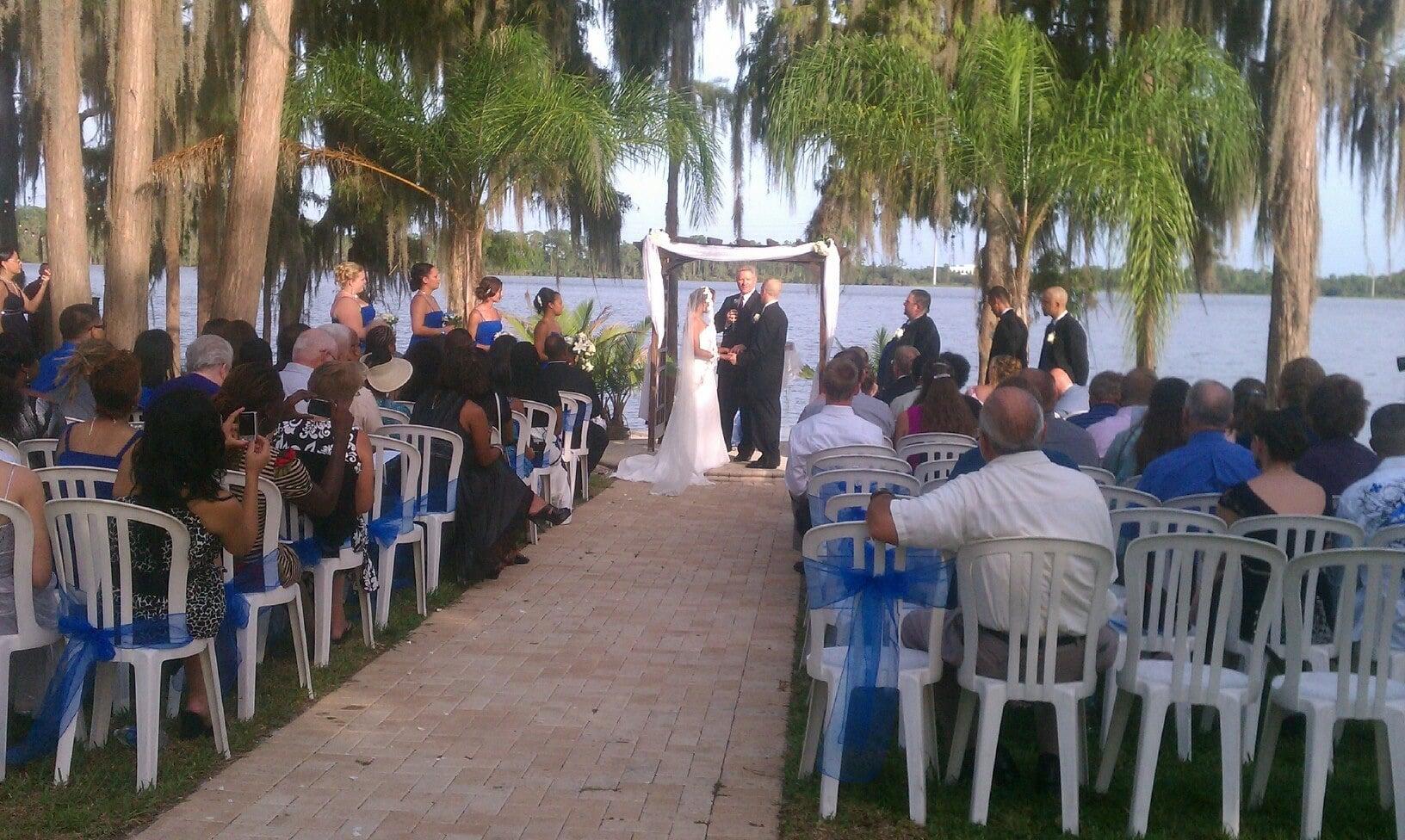 A Beautiful Ceremony - beautiful lakeside wedding