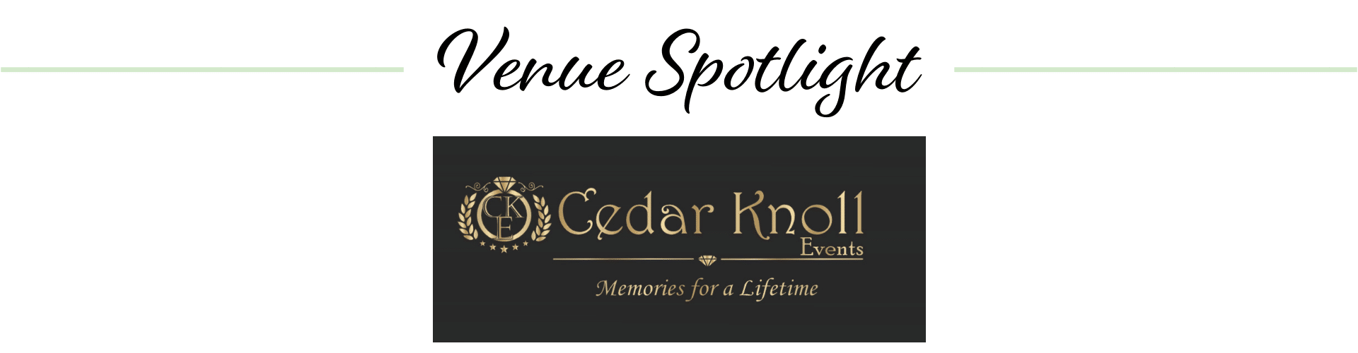 Cedar Knoll Events logo