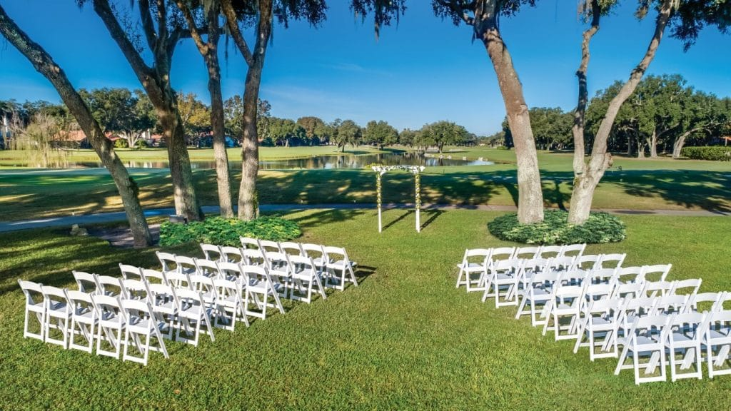Orange-Tree-Golf-Outdoor wedding venue on golf course
