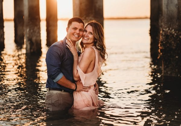 Beach Day Wedding Proposal Story