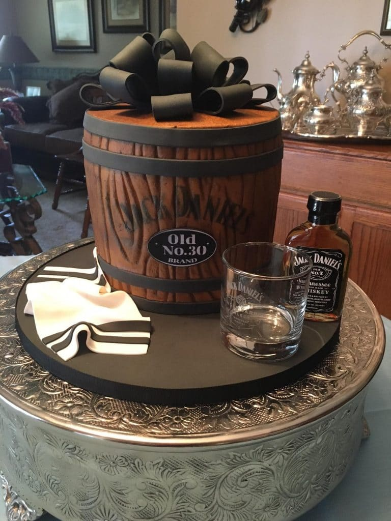 Sugar Sugar Cake Boutique - Jack Daniel's barrel cake