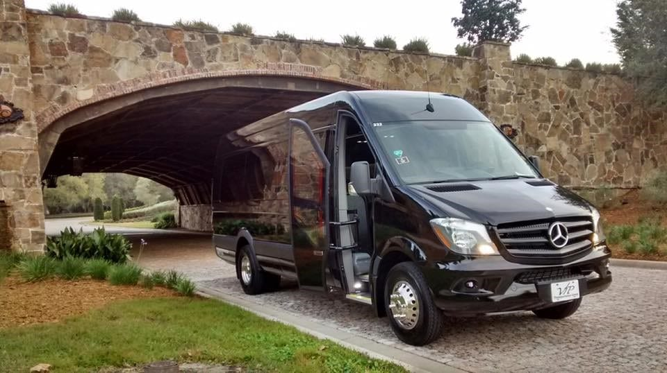 shuttle bus for wedding transportation for guests