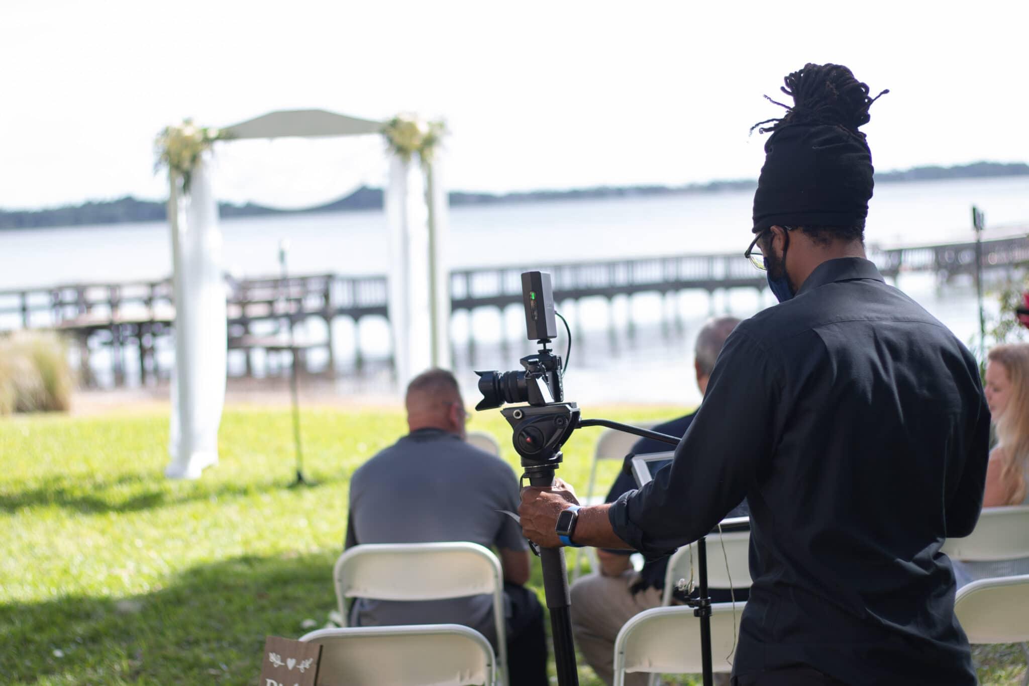 live streaming outdoor wedding orlando