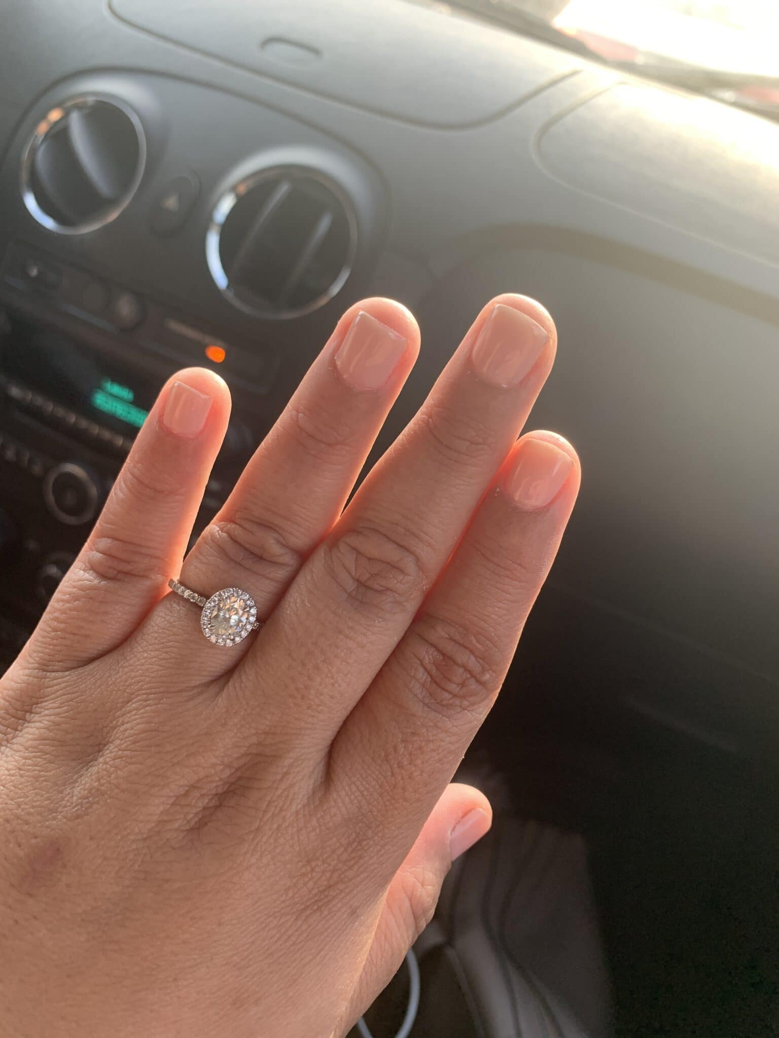 engagement ring from IDC