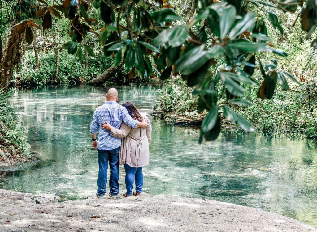 Florida Springs Wedding Proposal 2