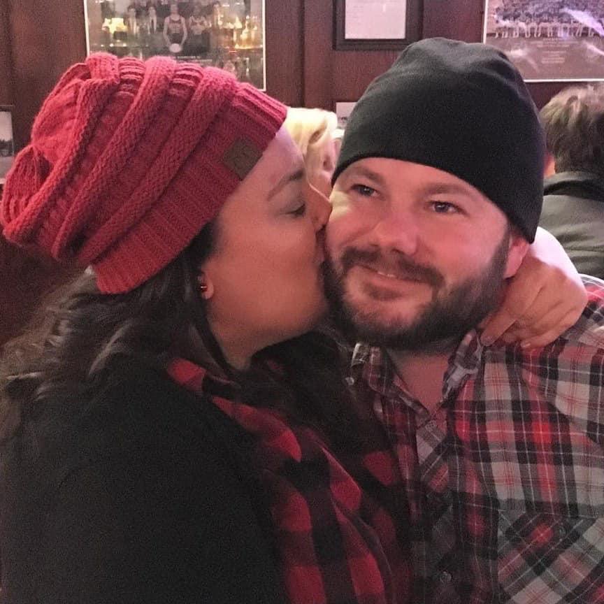 Audrey and Joshua engaged couple photo