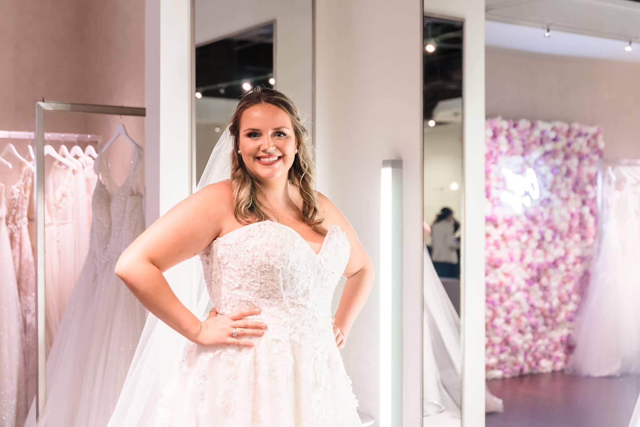 orlando plus size bridal dress shopping experience