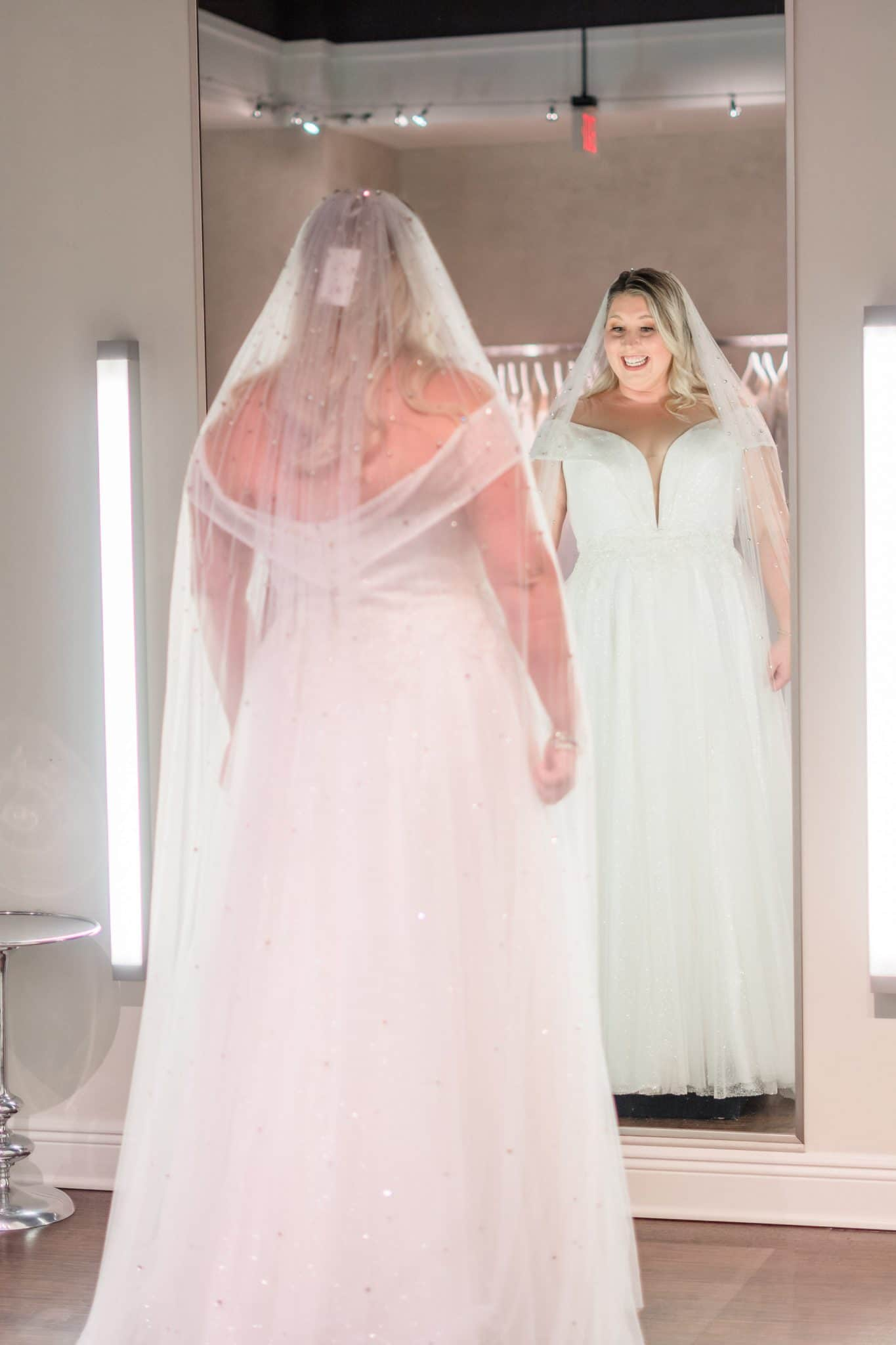 curvy wedding dress shopping in Orlando Florida