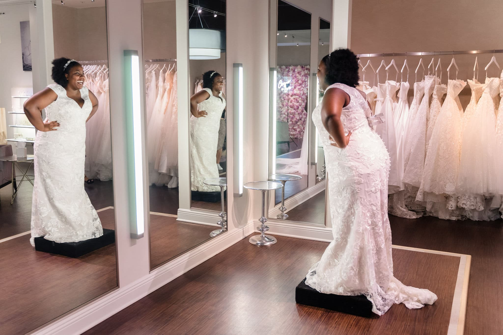 central florida curvy wedding dress salon