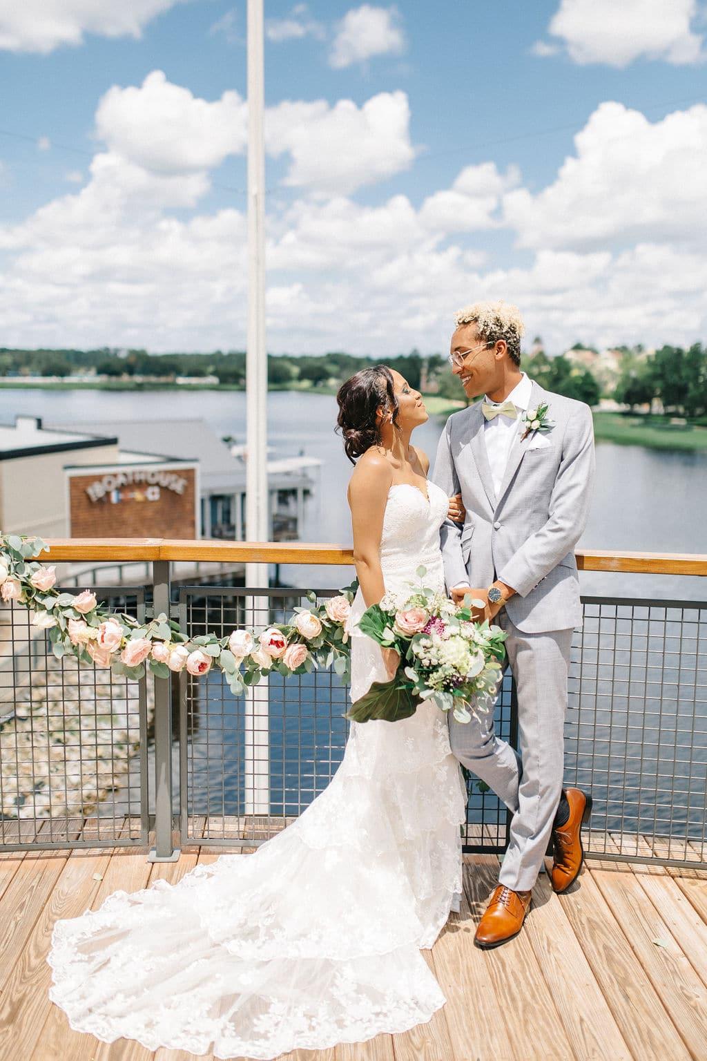 micro wedding Disney Princess and the Frog Wedding Theme