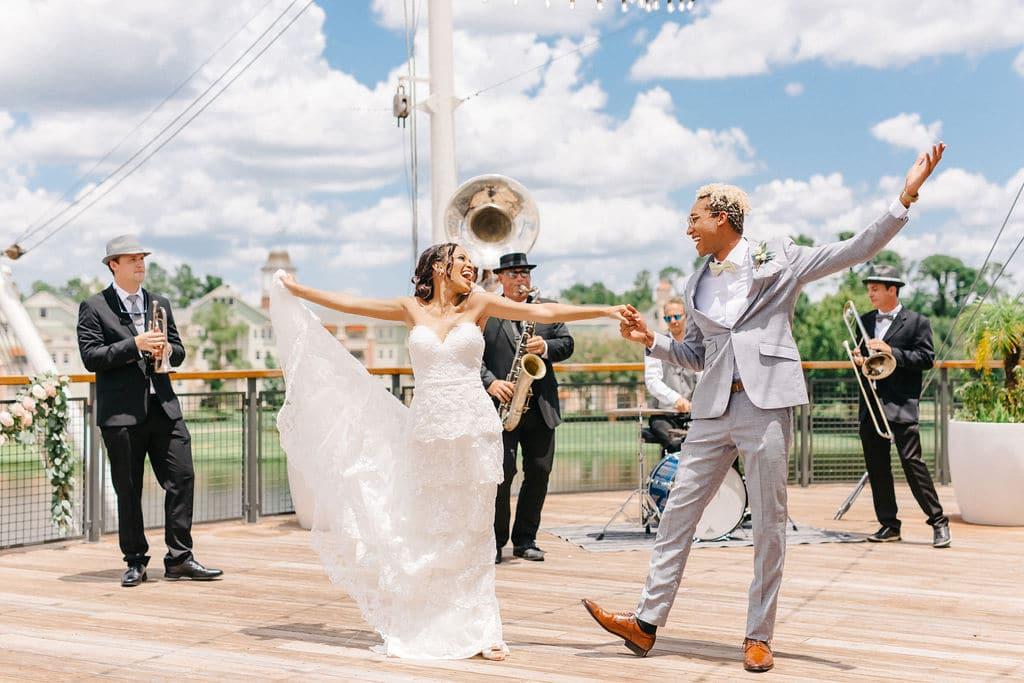 Princess and the Frog Wedding Theme at Paddlefish 13