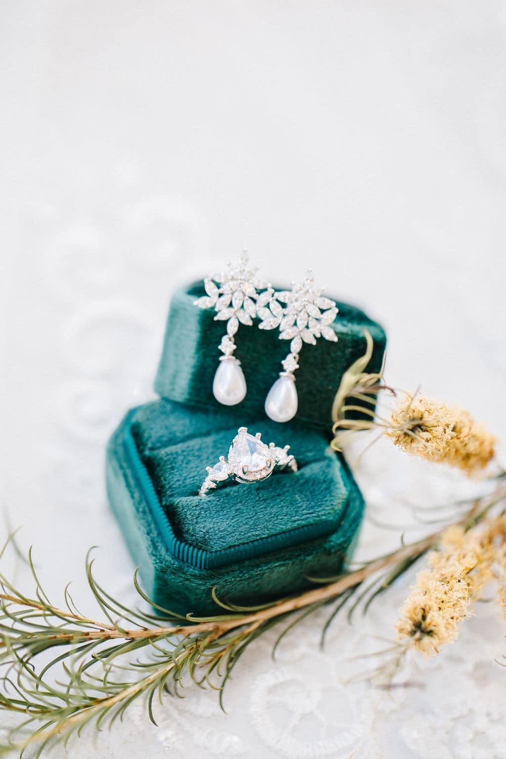 micro wedding Disney Princess and the Frog Wedding Theme jewelry