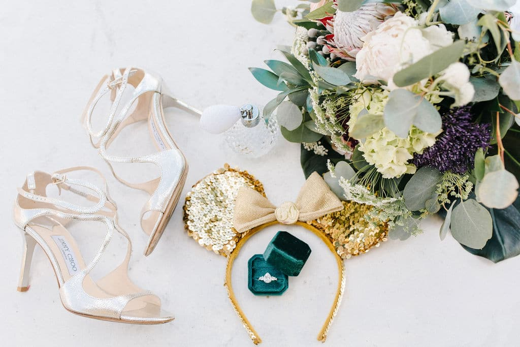 micro wedding Disney Princess and the Frog Wedding Theme wedding accessories
