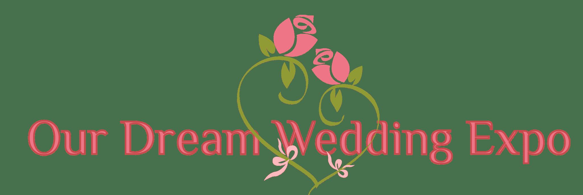Our Dream Wedding banner logo