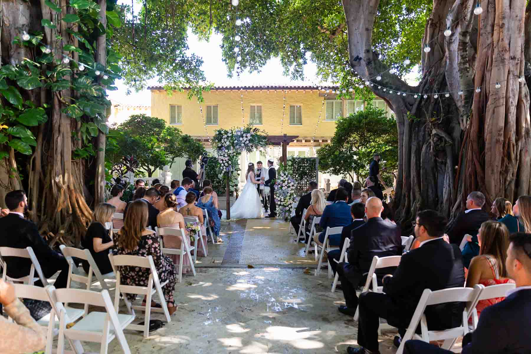 Dreamscape Photography, wedding ceremony outside