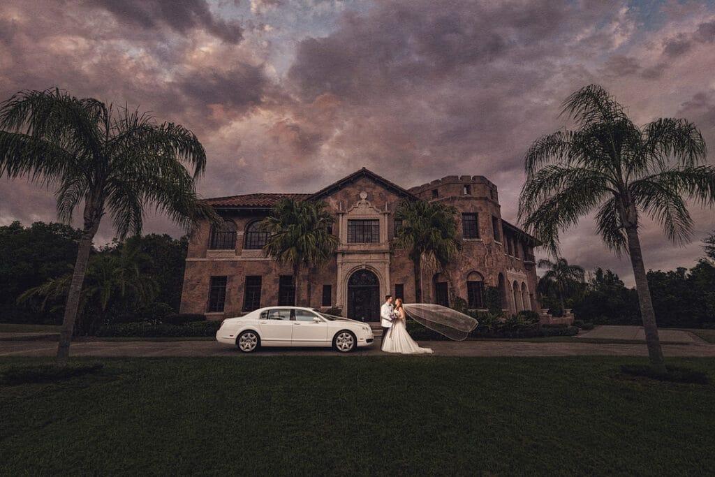 Florida Fairy Tale Castle Wedding 14