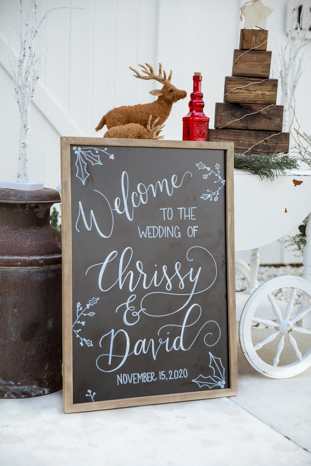 Romantic Christmas Wedding 37