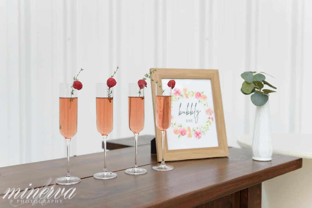 bubbly bar serving champagne cocktails