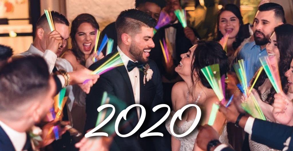 2020's Joyful Wedding Moments