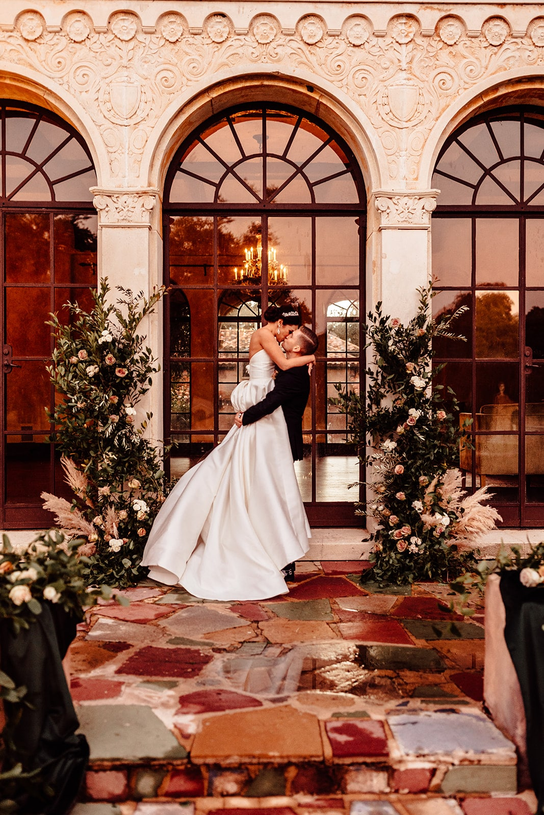 Emerald Wedding Styled Shoot @ The Howey Mansion