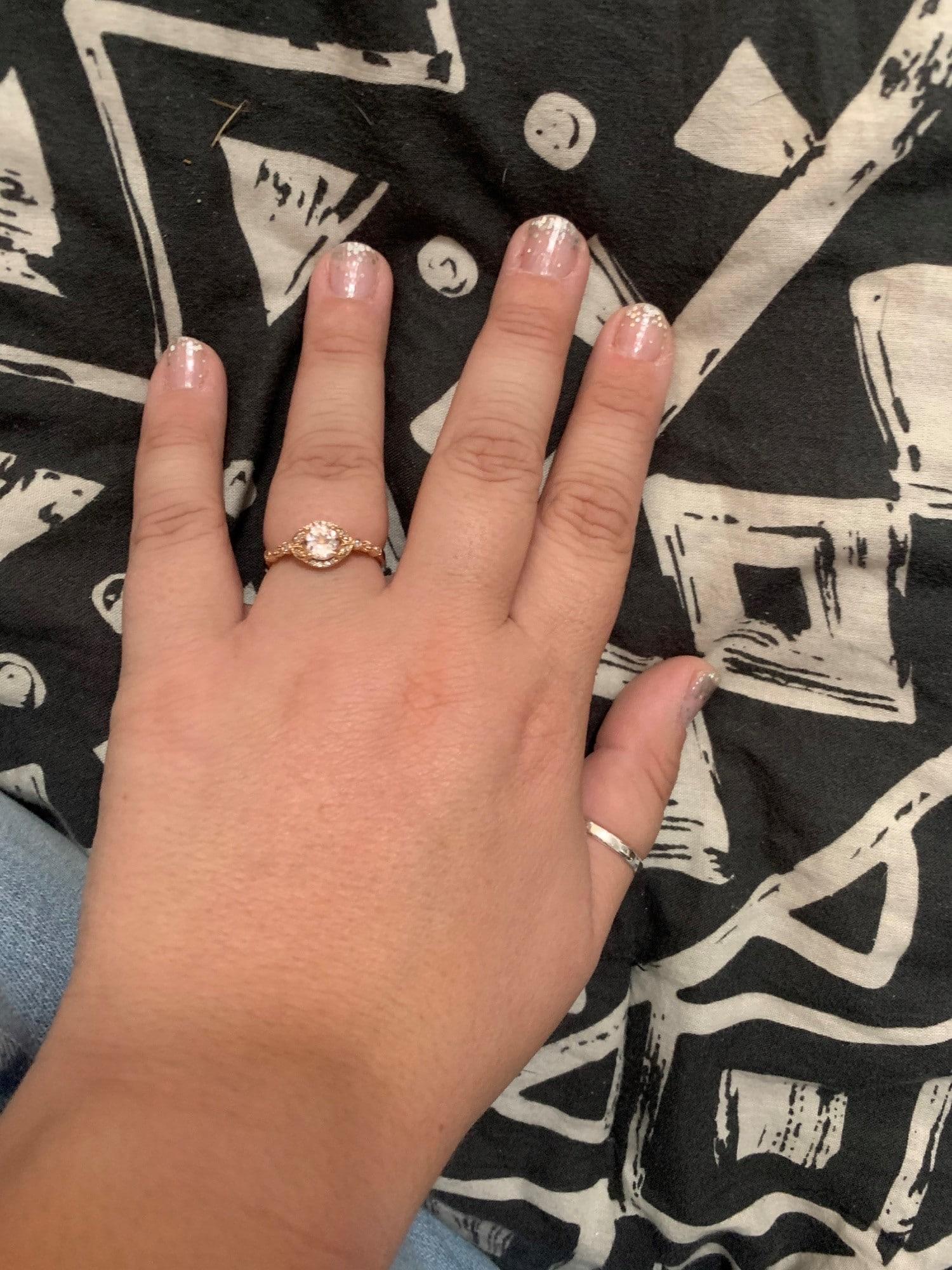 morganite engagement ring 1