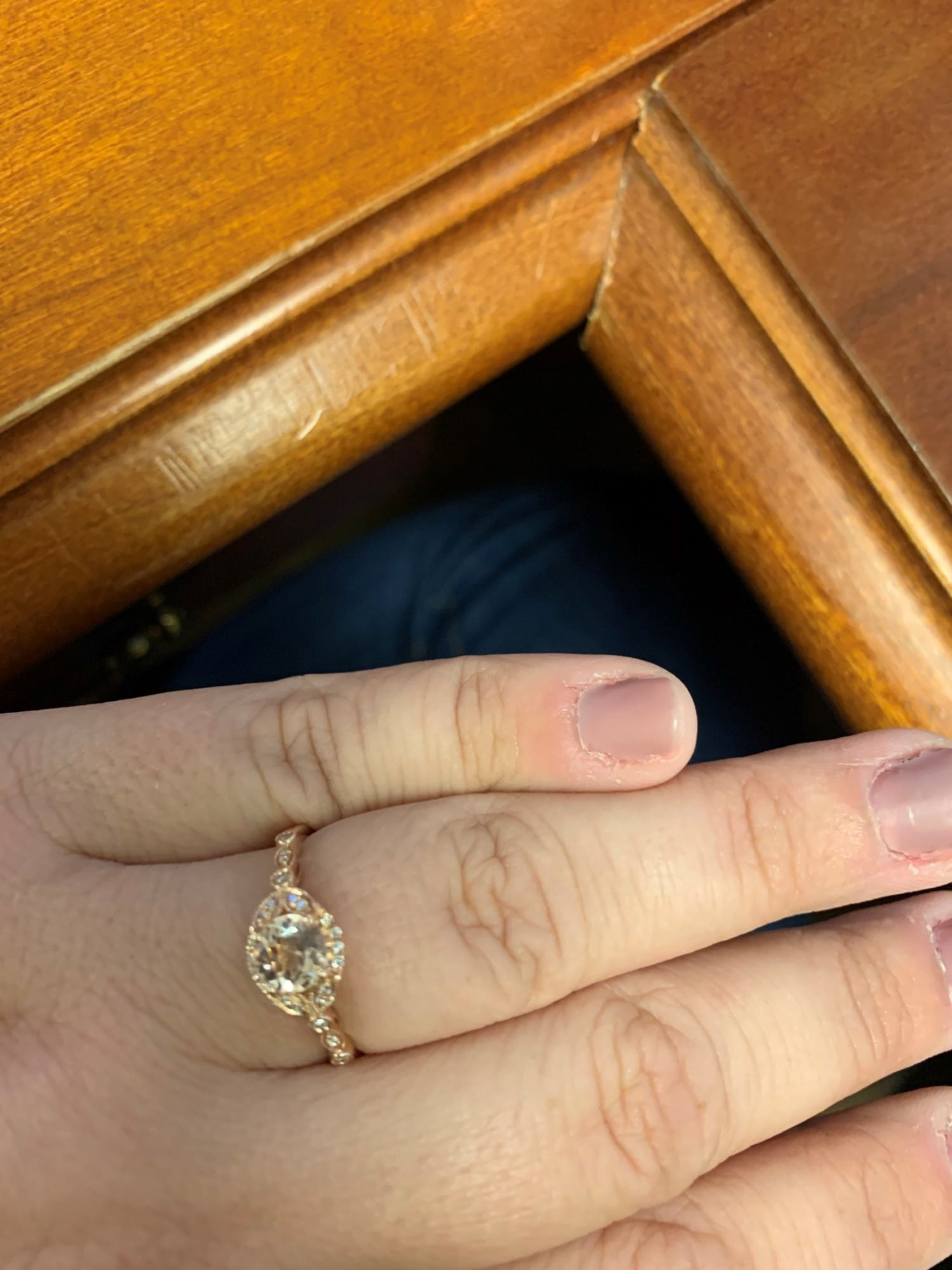 morganite engagement ring 2