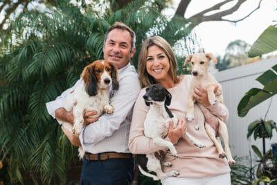 Cypress Creek Farmhouse headshot with dogs