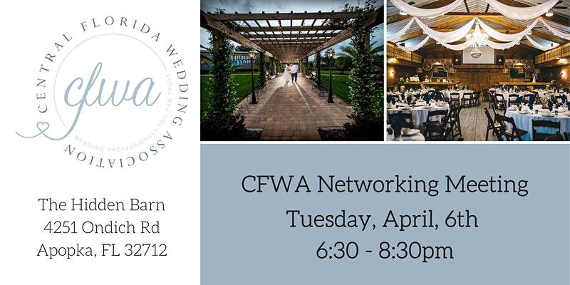 CFWA April Networking flyer