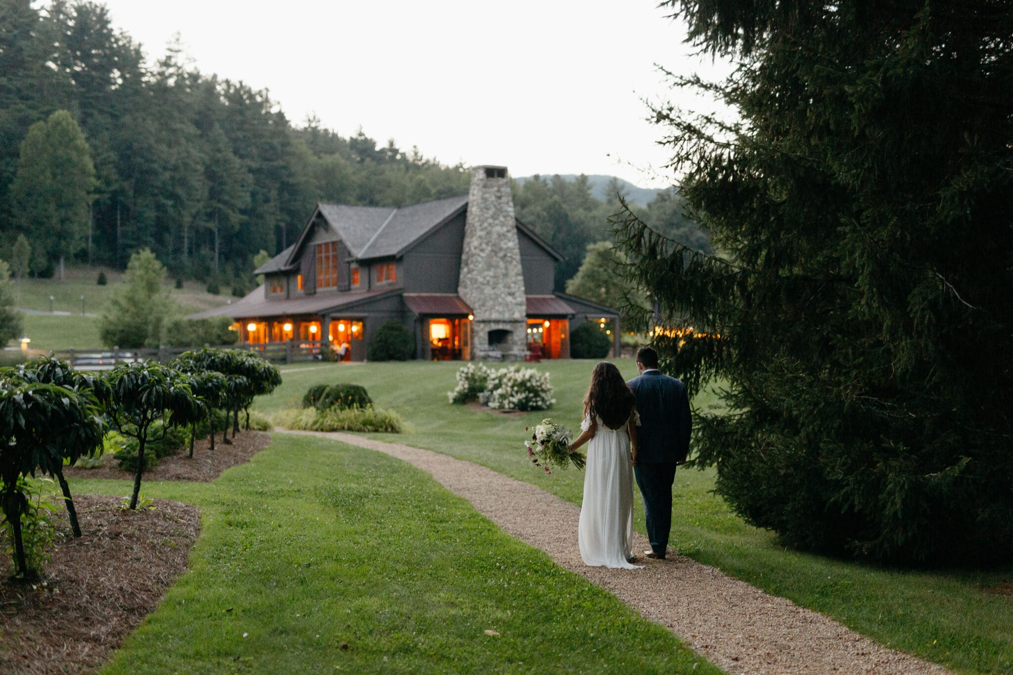 Canyon Kitchen at Lonesome Valley destination wedding venue