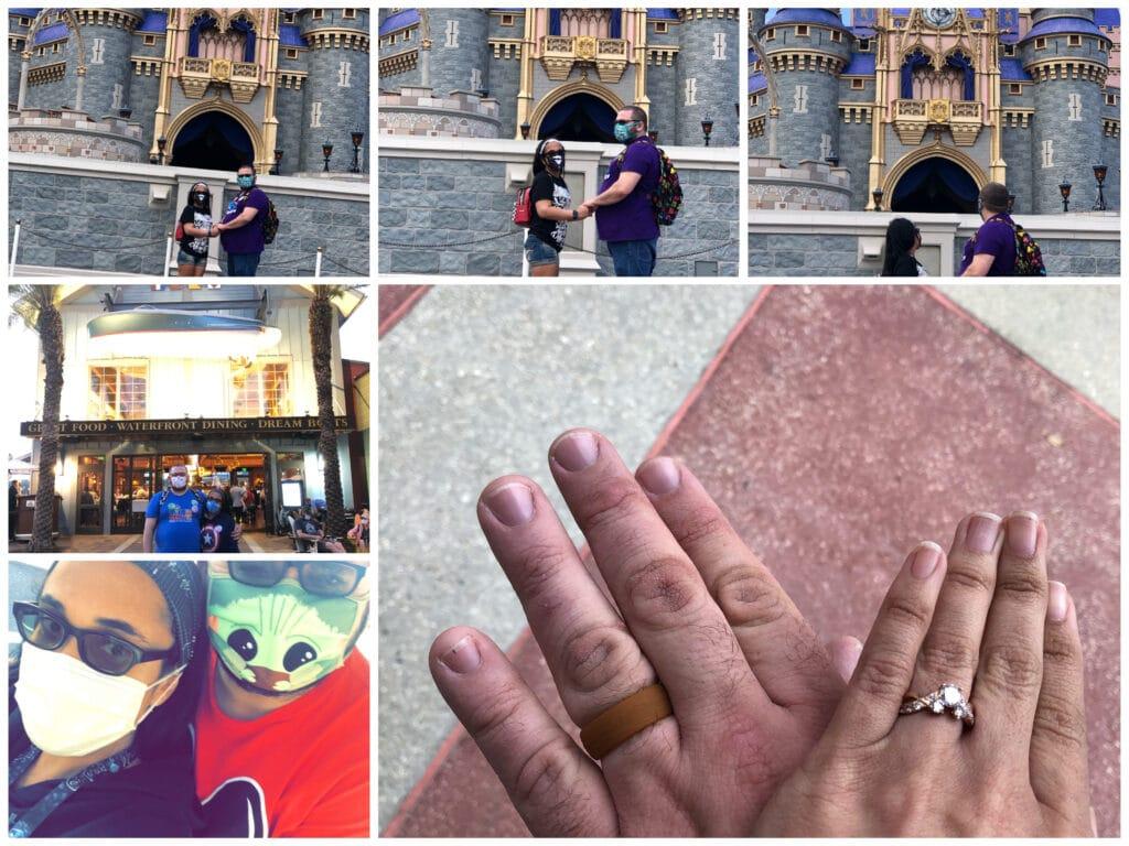 Walt Disney World Orlando Marriage Proposal 7