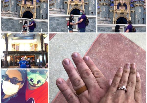 Walt Disney World Orlando Marriage Proposal
