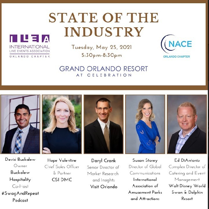 State of the Industry event at Grand Orlando Resort at Celebration on Tuesday, May 25th.