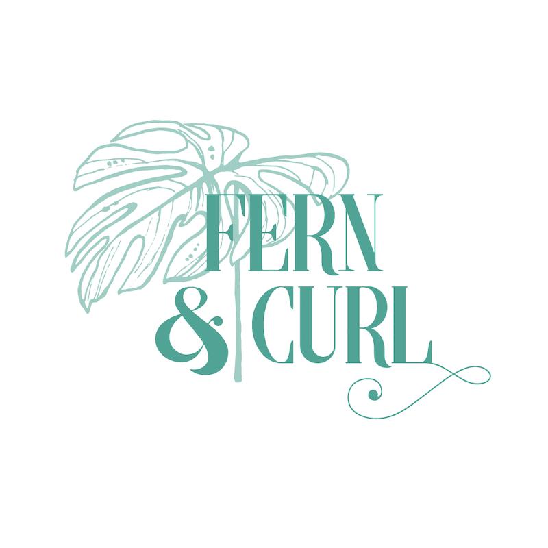 Fern and Curl Designs _ logo