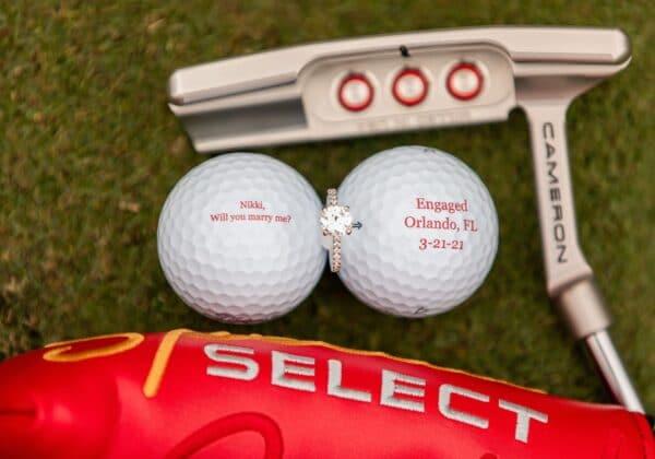 Orlando Golf Course Marriage Proposal