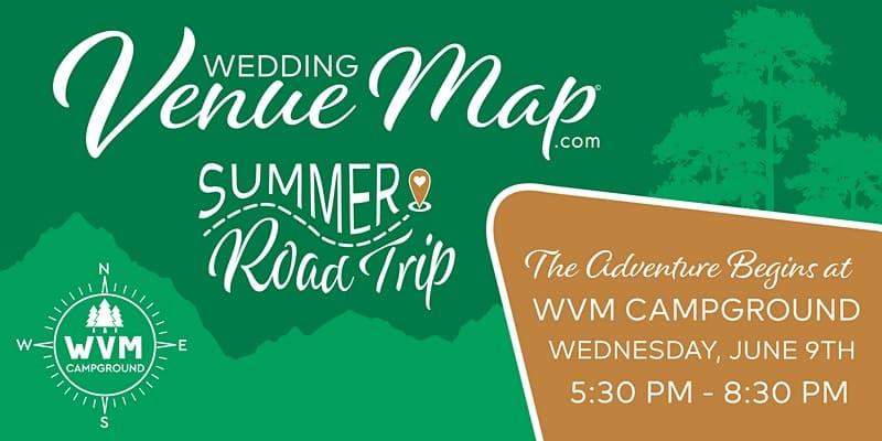 Wedding Venue Map Summer Road Trip logo