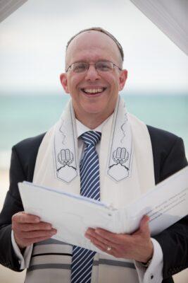 Orlando wedding rabbi performing Jewish wedding ceremony