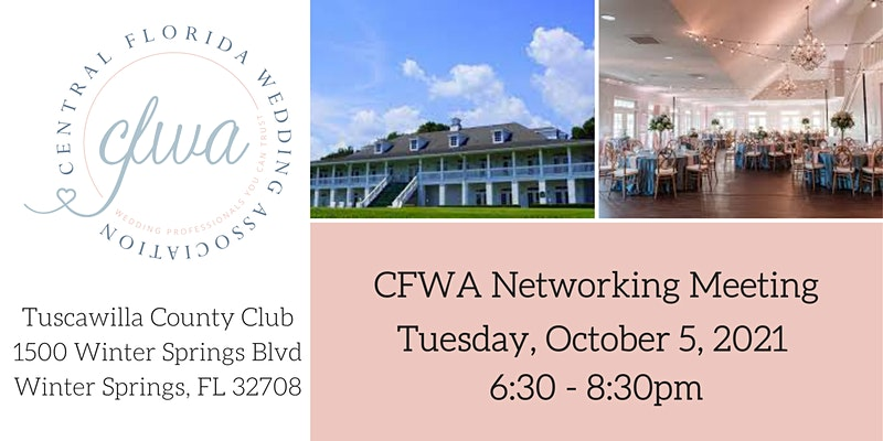 CFWA Networking Meeting at Tuscawilla Country Club