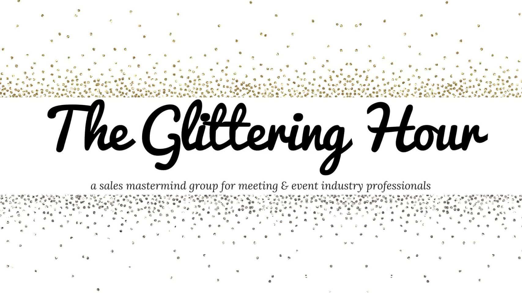 The Glittering Hour logo